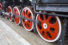 Die alte Lokomotive lizenzfreies stockfoto