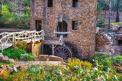 Alte Mühle - Wasser-Rad Lizenzfreie Stockbilder