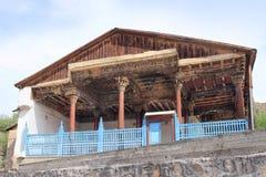 Die alte Moschee in Dorf Ayni (Aini), Tadschikistan Lizenzfreie Stockfotografie