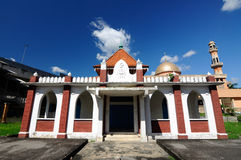Die alte Moschee von Masjid Jamek Jamiul Ehsan a K ein Masjid Setapak Stockfoto