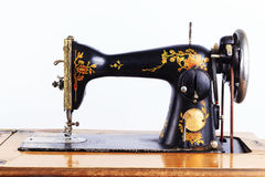 Die alte Nähmaschine Stockfoto