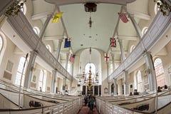 Die alte Nordkirche Lizenzfreie Stockbilder