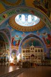 Die alte orthodoxe Kirche. Krim. Ukraine Lizenzfreies Stockbild
