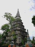 Die alte Pagode in Thailand Lizenzfreies Stockbild