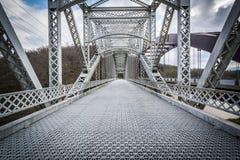 Die alte Papiermühle-Straßen-Brücke über Loch Raven Reservoir in der Jagd Stockfoto