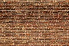 Die alte rote Backsteinmauer Lizenzfreie Stockbilder