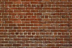 Die alte rote Backsteinmauer Lizenzfreies Stockbild
