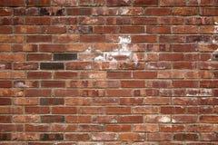 Die alte rote Backsteinmauer Stockfotos