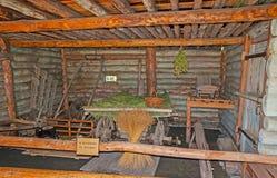 Die alte Scheune in Suzdal-Museum der hölzernen Architektur Stockfotos