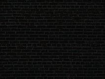 Die alte schwarze Backsteinmauerhintergrundbeschaffenheit Stockfotografie