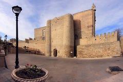 Die alte Stadt (Ä°cheri Sheher) von Baku, Aserbaidschan Stockbild
