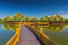 Die alte Stadt in Bangkok Lizenzfreie Stockbilder