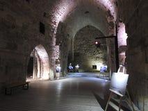Die alte Stadt des Morgens israel Stockbilder