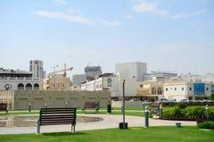 Die alte Stadt, Doha, Katar Stockbild