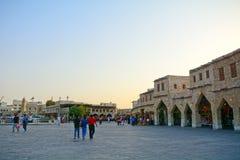 Die alte Stadt, Doha, Katar Lizenzfreies Stockfoto