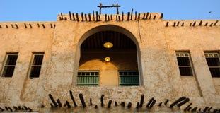 Die alte Stadt, Doha, Katar Lizenzfreies Stockbild