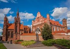 Die alte Stadt Vilnius, Litauen stockbilder