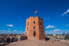 Die alte Stadt Vilnius, Litauen stockfotos