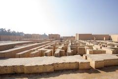 Die alte Stadt von Babylon Stockbilder