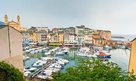 Die alte Stadt von Bastia Lizenzfreie Stockfotos
