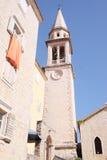 Die alte Stadt von Budva Lizenzfreie Stockfotografie