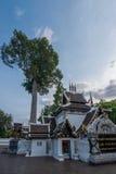 Die alte Stadt von Chiang Mai, von Thailand Wat Chedi Luang u. von x28; Wat Chedi Luang u. x29; Stockbilder