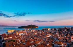 Die alte Stadt von Dubrovnik in Kroatien Lizenzfreies Stockbild