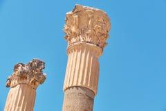 die alte Stadt von ephesus Ungewöhnliche Ruinen in der Türkei nahe dem Fa Lizenzfreie Stockbilder