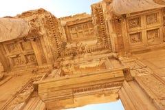 die alte Stadt von ephesus Ungewöhnliche Ruinen in der Türkei nahe dem Fa Lizenzfreie Stockfotografie