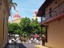 Die alte Stadt von Granada Nicaragua lizenzfreie stockfotos