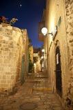 Die alte Stadt von Jaffa nachts, Tel Aviv Stockbilder