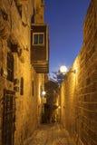 Die alte Stadt von Jaffa nachts, Tel Aviv, Stockfoto