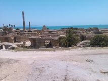 Die alte Stadt von Karthago Lizenzfreie Stockbilder