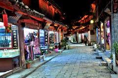 Alte Stadt von Lijiang Stockfotografie