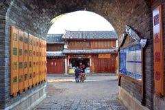 Alte Stadt von Lijiang Lizenzfreie Stockbilder