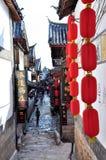 Alte Stadt von Lijiang Lizenzfreies Stockbild