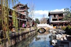 Alte Stadt von Lijiang Lizenzfreie Stockfotos