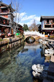 Alte Stadt von Lijiang Stockfotos