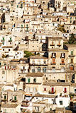 Die alte Stadt von modica Sizilien Lizenzfreies Stockbild