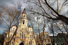 Die alte Stadt von Odessa Ukraine Stockfotos