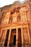 Die alte Stadt von PETRA Jordanien lizenzfreies stockfoto