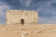 Die alte Stadt von Region Oman 3 Ubar Shisr Dhofar Stockfotos