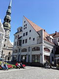 Die alte Stadt von Riga Lizenzfreies Stockbild