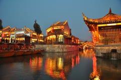 Die alte Stadt von Taierzhuang Stockfoto