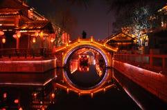 Die alte Stadt von Taierzhuang Stockfotografie