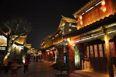 Die alte Stadt von Taierzhuang Lizenzfreies Stockbild