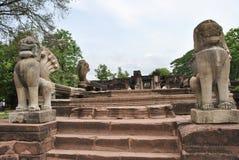 Die alte Stadt von Thailand Stockbild