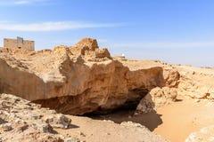 Die alte Stadt von Ubar, Dhofar (Oman) Lizenzfreie Stockfotografie