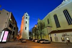 Die alte Stadt von Vilnius Lizenzfreie Stockfotos