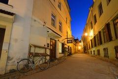 Die alte Stadt von Vilnius Lizenzfreie Stockfotografie